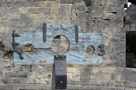 Ancient pillory photo