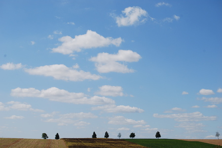 coefficient: French countryside sky