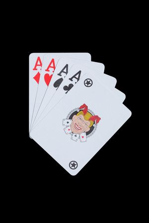 Four aces and joker
