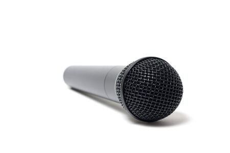 Microphone On White Background  photo