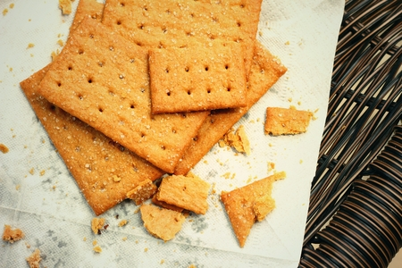 galletitas: Salty crackers