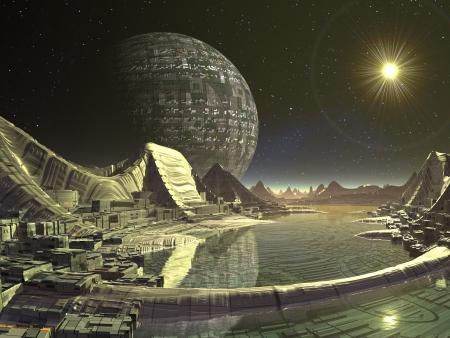 Alien Satellite City