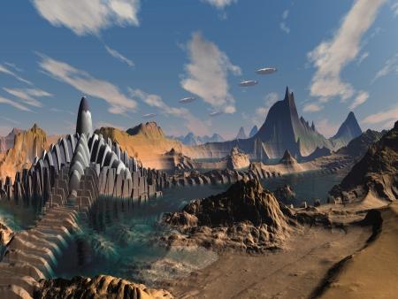 Invasie van Alien City en Wereld
