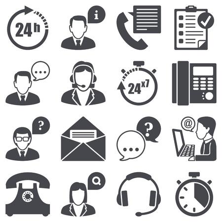 headset business: Set di icone di sostegno
