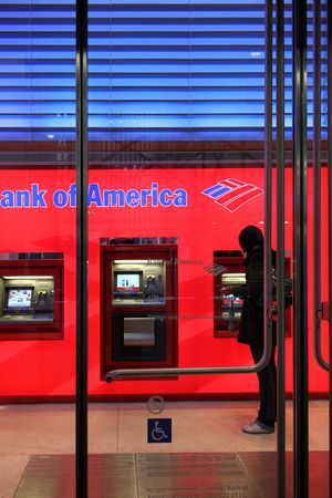 automatic teller machine: Nueva York, Estados Unidos, 27 de octubre de 2009, Automatic Teller Machine