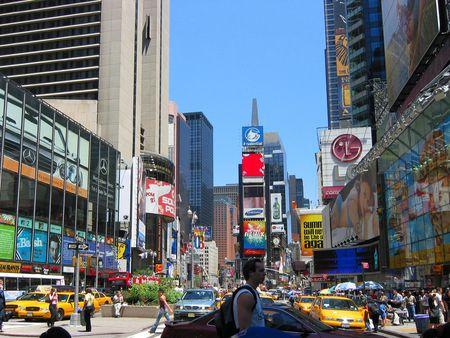 New York City, USA, July 1, 2003, Times Square