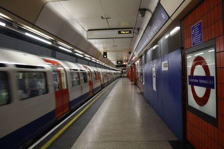 London, July 16, 2009, Heathrow Airport Underground Station