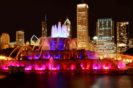 Chicago, September 13, 2010, Buckingham Fountain