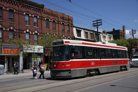 Toronto, Streetcar, May 13, 2010 Sajtókép