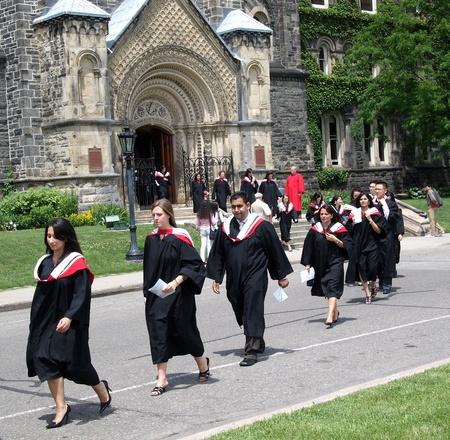 Toronto, Canada, June, 2010, University of Toronto student graduation ceremony