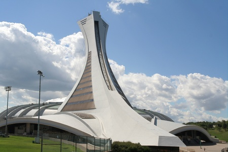 Montreal, Quebec, Aug. 13, 2008, Olympic Stadium Built for the 1976 Summer Olympics