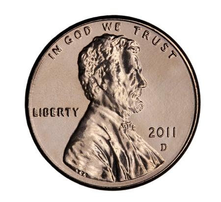 Denver, Colorado, January 2011, United States Penny