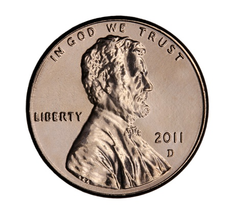 penny: Denver, Colorado, January 2011, United States Penny