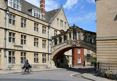 Oxford, England, May 2007 - Oxford University Bridge of Sighs Stock Photo - 9768137