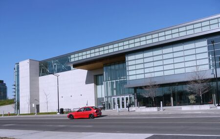Oakville, Canada, May 2011 - Modern Building Stock Photo - 9768146