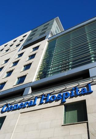 hospital: Chicago, USA, November 2007 - large modern hospital building