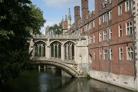 Cambridge, England, July 2009 - Cambridge University Bridge of Sighs