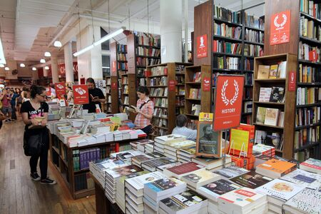 New York City, May 2011, famous Strand Bookstore on lower Broadway Editorial