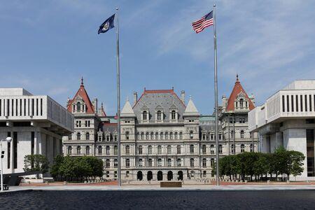 New York State Capitol, Albany Reklamní fotografie
