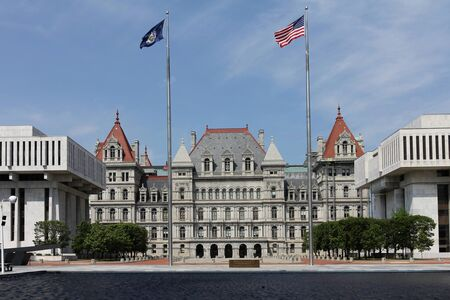 New York State Capitol, Albany Stock Photo
