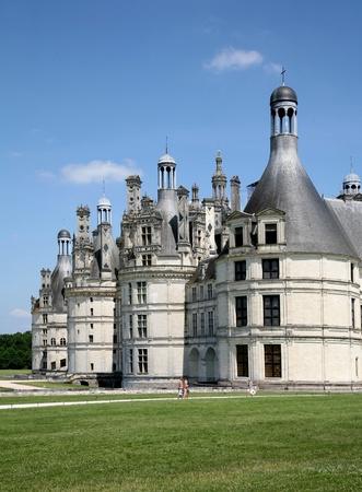 Chambord, France, June 2009 - Chateau de Chambord 16th century royal palace