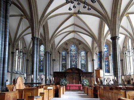 knights templar: London, England, June 2007 -  Temple Church, medieval church of the Knights Templar Editorial