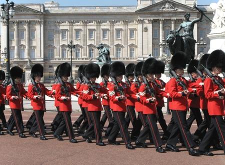 Londýn, Anglie, červen 2007 - střídání stráží u Buckinghamského paláce Redakční