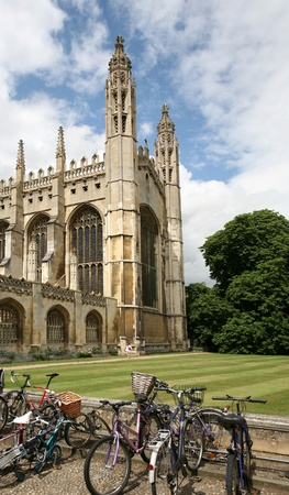 Cambridge, England, July 2009 - Cambridge University, King Editorial