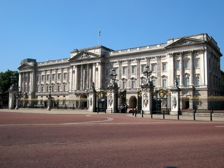 London, England, June 2007 -   Buckingham Palace front view