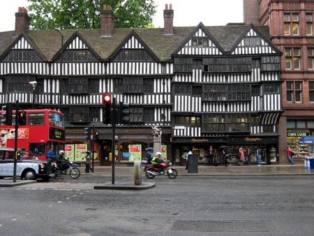 London, England, June 2007 -   Staple Inn, Tudor half-timbered building in Holborn