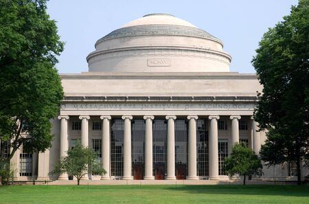 Cambridge, Massachusetts, červenec 2008 - Velká Dome MIT, Massachusetts Institute of Technology Redakční
