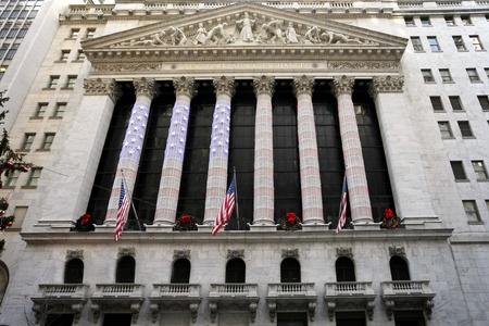 new york stock exchange: New York City, dicembre 2009 - New York Stock Exchange building