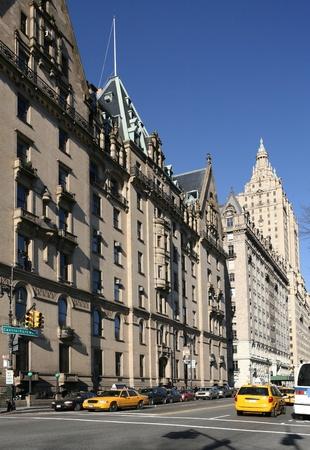 New York City, December 2008  - Elegant Dakota apartment building on Central Park West Stock Photo - 10404094