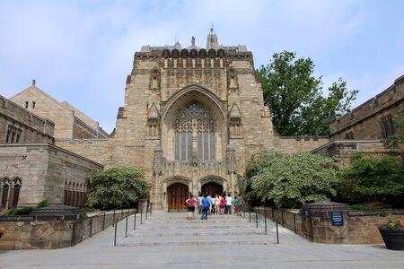 New Haven, Connecticut, květen 2011 - Sterling knihovna Yale University