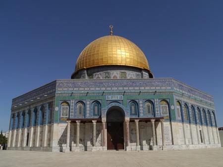 Jerusalem, Israel, October 2011 - Dome of the Rock
