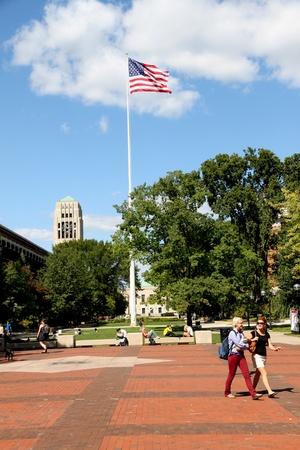 Ann Arbor, Michigan, September 2010 - Campus of the University of Michigan