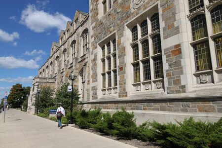 Ann Arbor, Michigan, září 2010 - Campus z University of Michigan