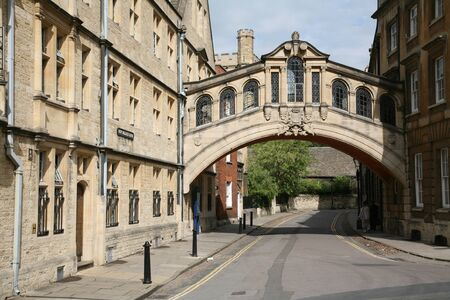 oxford street: Oxford, England, July 2009 - Oxford University, Bridge of Sighs