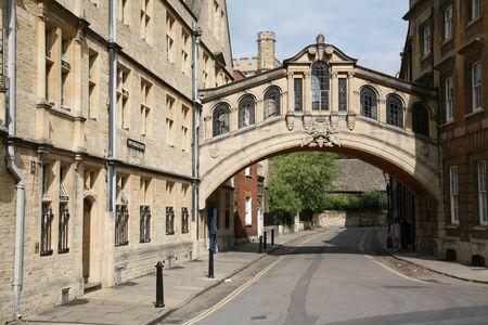 oxford: Oxford, England, July 2009 - Oxford University, Bridge of Sighs