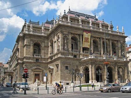 Budapest, Hungary, May 2007 - the Opera building