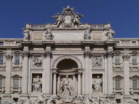 Rome, Italy, October 2011 -  Trevi Fountain Editoriali