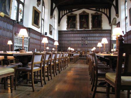 Oxford, Anglie, červenec 2009 - červen 2007, Magdalen College jídelna