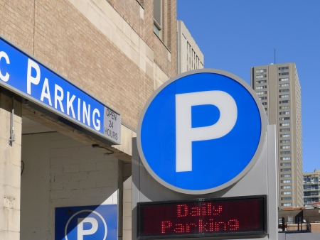 garage: Parking Garage, Chicago, 2011