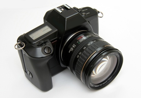 Electronic SLR camera from 1980s
