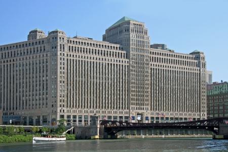 merchandise mart: Chicago, USA, July 2006, Merchandise Mart building