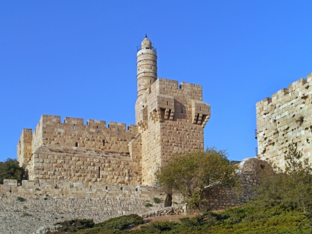Jerusalem, Old City, and Tower of David, 2011