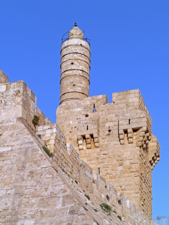 Jerusalem, Old City Wall, and Tower of David, 2011