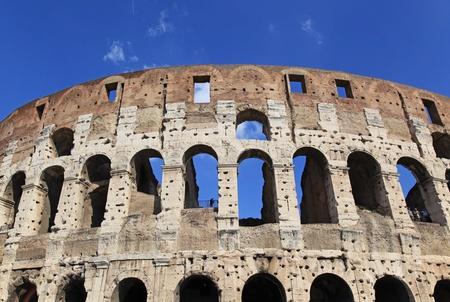 Colosseum in Rome, oktober 2011 Redactioneel
