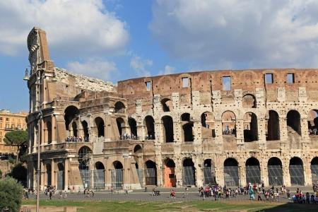 Coliseum in Rome, October 2011