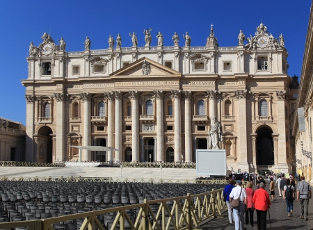 St. Peters Basilica, Rome, 2011 Stock Photo - 17201753